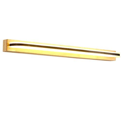 Beleuchtung Led Spiegelleuchten 62 cm Gummi Holz Badezimmer Eitelkeit Leuchte Einstellbarer Winkel Wandleuchten für Kosmetikspiegel Kleiderschrank - Badezimmer-eitelkeit-holz-eitelkeit