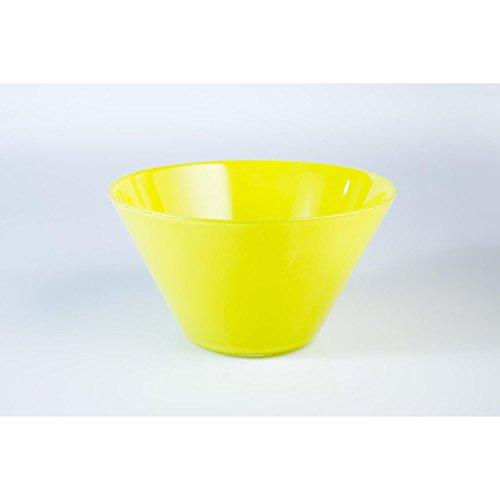 INNA Glas - Coupelle apéritif en verre VICKY, vert clair, 9 cm, Ø 16,5 cm - Coupelle dessert / Coupe en verre