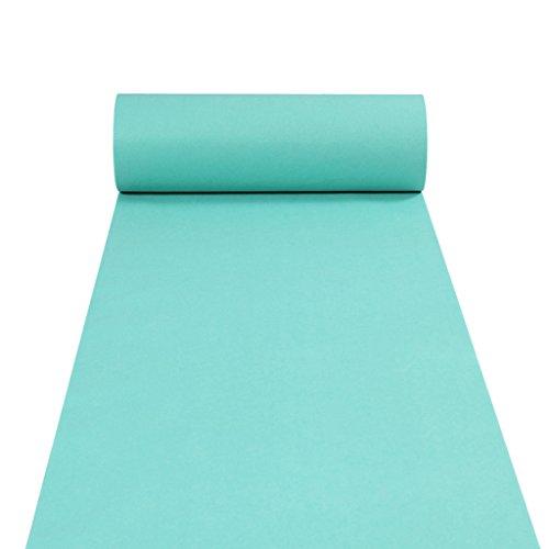 GYM Floor Carpet Runner Carpet Runner für Hall Stair Party Hochzeit Hochzeiten Aisle Carpet Runner Echtes Blau (Color : Blue, Size : 1.2M*20M)