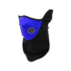 Aofocy Nackenwärmer Gesichtsmaske Fahrrad Fahrrad Snowboard Ski (blau)