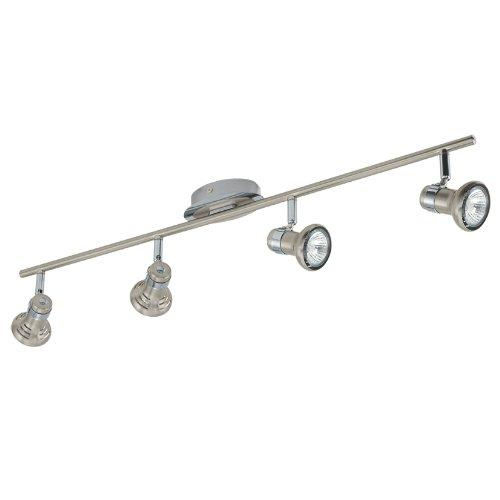 Eglo abris Indoor GU1050W–Ceiling Lighting (Living room, Indoor, iP20, les, Spot Set, 4Bulb (s))