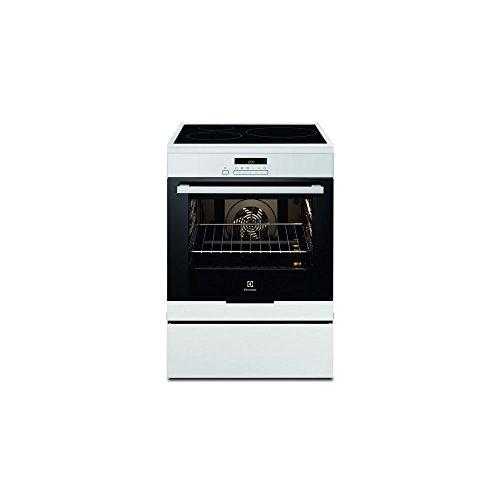 Electrolux EKI6771AOW Cuisinière Plaque avec zone à induction A Blanc four et cuisinière - Fours et cuisinières (Cuisinière, Blanc, boutons, senseur, En haut devant, Plaque avec zone à induction, Small)