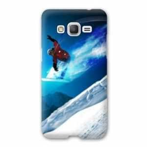 Coque Samsung Galaxy Grand Prime Sport Glisse - snowboard saut N