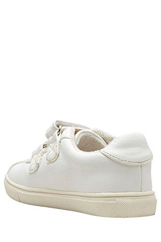 next Baskets Brodées (Maternelle Fille) Blanc