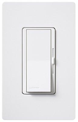 Lutron Electronics White Diva Duo Dimmer DVW600PH-WH (Lutron-licht-schalter)