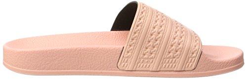 adidas Adilette, Chaussures de Plage et Piscine Homme Rose (Haze Coral/haze Coral/haze Coral)