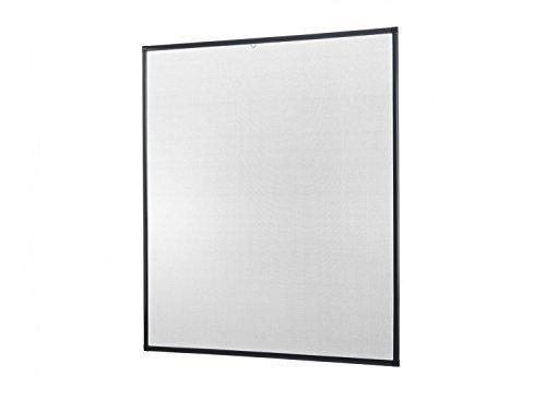 Insektenschutz Fliegengitter Fenster Alurahmen Basic Zuschnitt weiß
