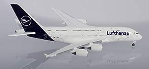 Herpa 533072 Lufthansa Airbus A380 Wings/avión para coleccionar