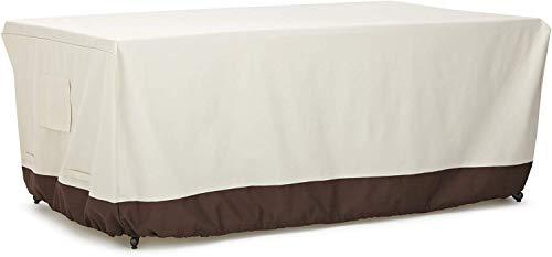 Amazonbasics - copertura per tavolo da pranzo, 180 cm