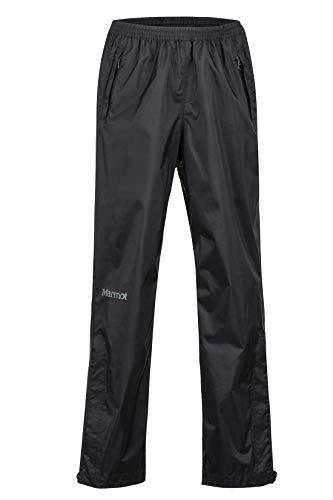 Marmot Kinder Kid's PreCip Eco Pant Hardshell Regenhose, Black, M