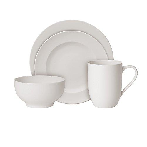 Villeroy & Boch 10-4153-7277 Kit de démarrage Porcelaine Blanc 34,7 x 19,7 x 32,4 cm 1 set (16 pièces)