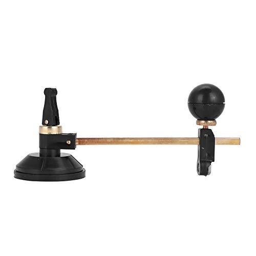 6-Rad-Glasschneider-Kompasse Typ Kreisschneider mit Saugnapf für Glaskeramik(30cm)