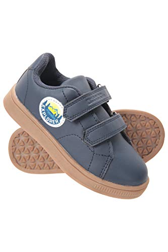 Mountain Warehouse Explorer Junior Riptape Shoes - Kids Walking Shoes