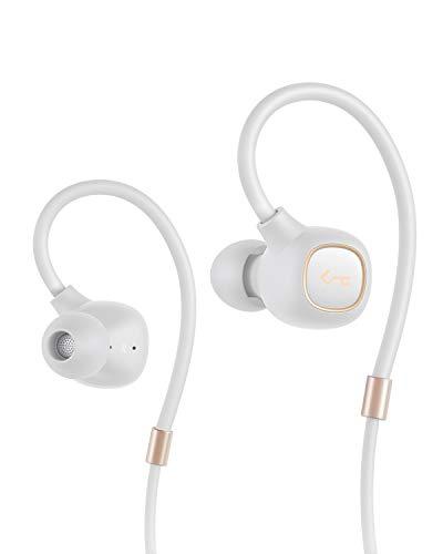 AUKEY Bluetooth Kopfhörer, Key Series Bluetooth 5 In Ear Kopfhörer mit Hybrid Treibern, aptX Low Latency, IPX6 Wasserdicht, 8 Stunden Spielzeit und Mikrofon für iPhone, iPad, Samsung, Huawei und Sony Hybrid-kopfhörer-kopfhörer