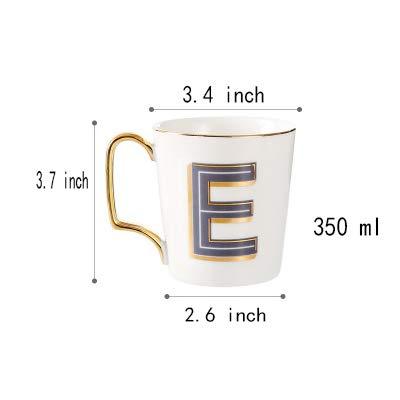 Tasses à café Mug en céramique Tasses Coupe Anglaise Esquisser la Tasse de café de Phnom Penh Tasse de Couple Cup créative Tasses à thé-E 350ml