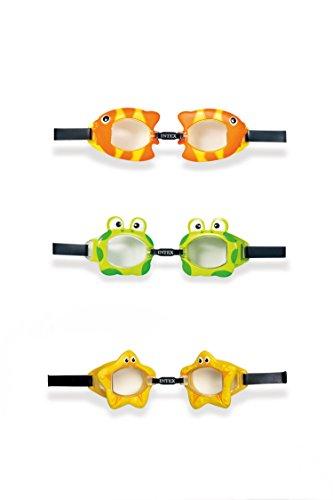 Intex 55603 - Occhialini Fun Bimbo, Multicolore