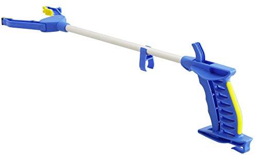 activera® Greifhilfe magnetisch Greifarm mit Softgriff handschonend 78cm blau