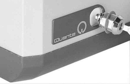 3M Schlossbausatz für Verteilerkasten VKA 4 bis VKA 12, inkl. 2 Schlüssel, Schliessung Q3 (Quante) - 4-licht-zylinder