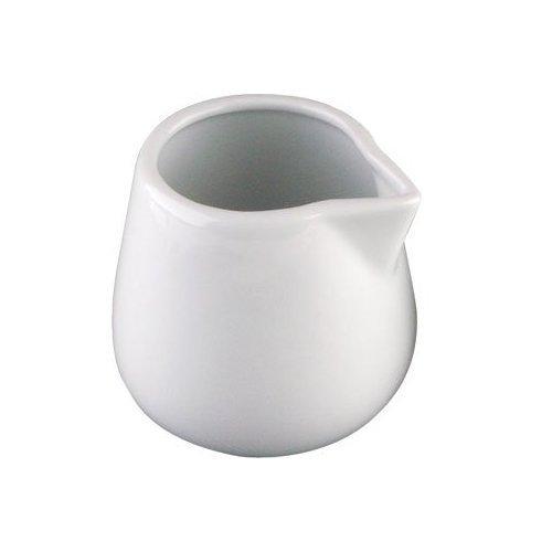 Milchkännchen, Weiß, 45ml, 12Stück
