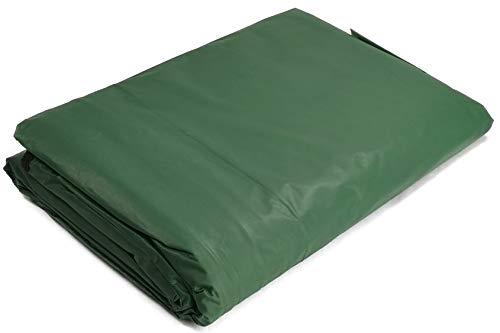My-goodbuy24 Schutzhülle für Hollywoodschaukel-Abdeckung Gartenschaukel Abdeckhaube - 185 x 175 x 115 cm - Wetterfest - Wasserdicht - mit Osen und 2 Reißverschlüssen (Grün)