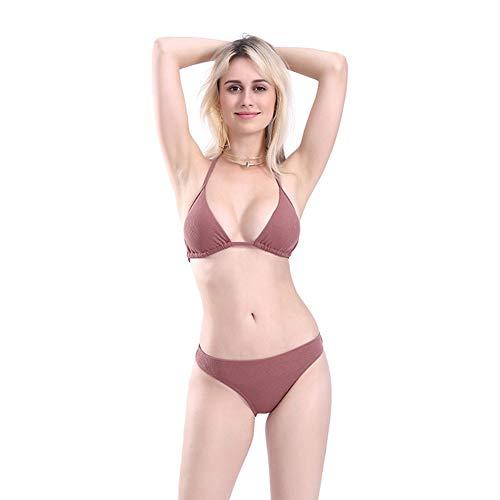 XDDQ Bikini Einteiliger Bademode Vintage Sommer Schwimmen KostüM FüR Frauen Plus Size Bademode Strand Dress Frauen Floral Bikini