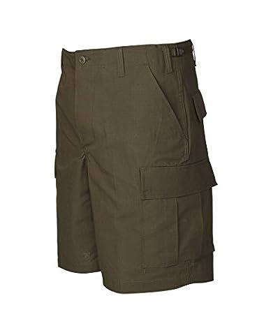 TRU-SPEC Men's BDU Zipper Fly Shorts, Olive Drab, Small/Regular