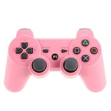Ps3 Skin-rosa Controller (Bright- Bluetooth Wireless doubleshock 3 Controller für PS3 versandkostenfrei , Rosa)