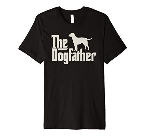 The Dogfather Labrador Lustiges Hundepapa Shirt -