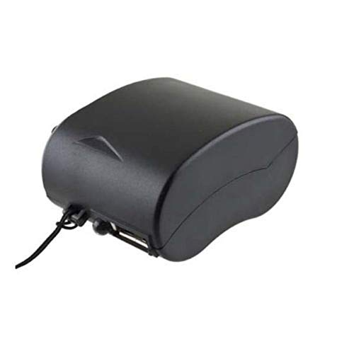 8Eninine Mini Handkurbel USB Radio Taschenlampe Telefon Ladegerät Stromgenerator Ladegerät Schwarz