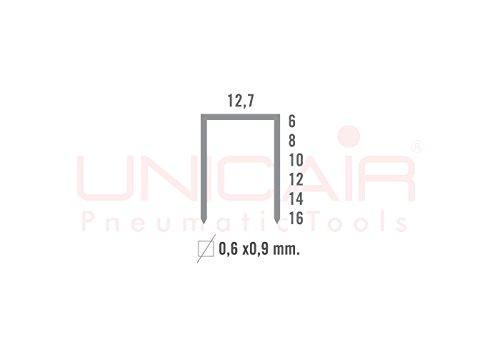 Boîte d'agrafes Unicair type 80x 4mm 10.000unités