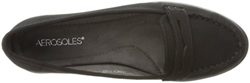 Aerosoles Limon Tree Toile Chaussure Plate Black