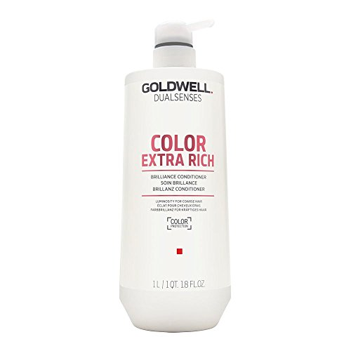 Goldwell Dualsenses Color Extra Rich Brilliance Conditioner, 1er Pack (1 x 1 l) (Conditioner Extra-feuchtigkeit)
