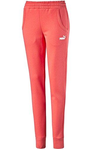 PUMA Damen Hose Essentials No. 1 Logo Pants Farbe: Cayenne (42); Größe: XL -