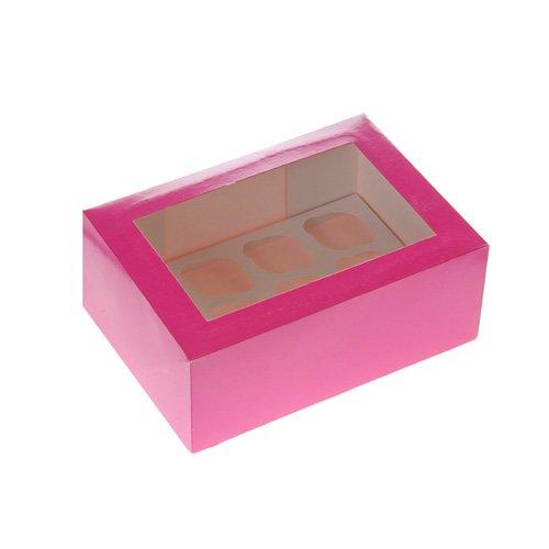 x, pink (Mini-cupcake-box)