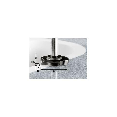 FESTOOL 492701 Planfräser HW Schaft 12 mm HW D 52/R1ss S12