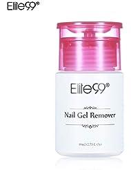 Elite99 80ml Dissolvant Remover pour vernis semi permanent- Manucure, Faux Ongles et Nail Art