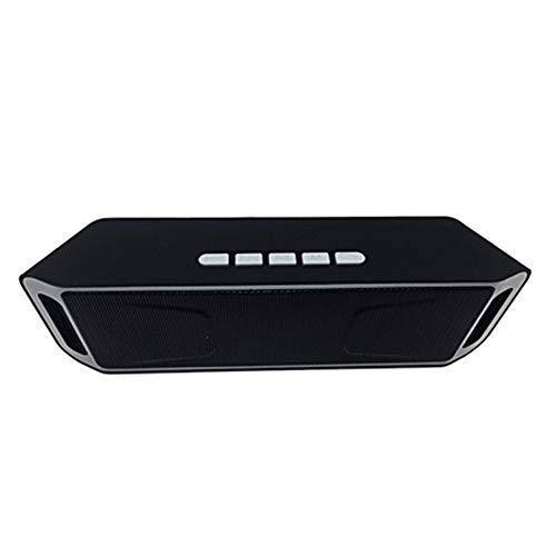 Xiton Wireless Bluetooth Lautsprecher im Freien Tragbare Stereo-Lautsprecher mit High-Definition Audio und verbesserte Bass, in Dual-Laufwerk Lautsprecher eingebaut - Silbergrau