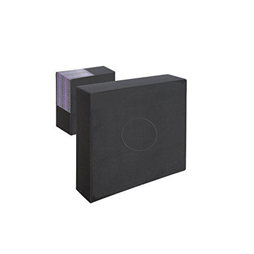 Franks-Castle Zielscheibe extrastark Polifoam bis 70 lbs - 80 x 80 x 17 cm mit auswechselbarer Mitte