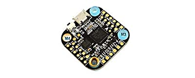 Ocamo Matek System 20x20mm F411-mini Mini F4 Flight Controller AIO OSD BEC and LED Strip for RC Drone