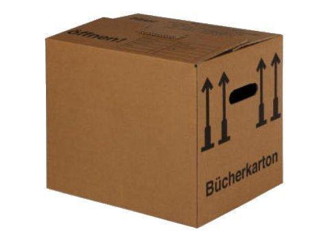 BB-Verpackungen® 25 Basic 4 x 33 x 34 mm Bücher Umzug Box