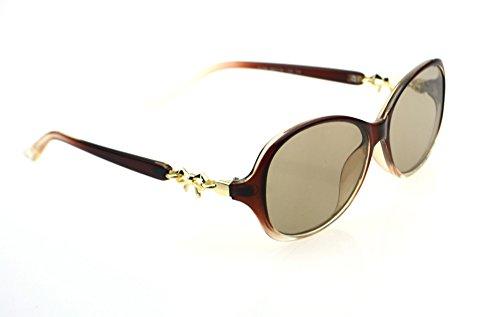 qingfengxulai Sonnenbrillen Natürliche Kristallgläser Damen Auffällige Sonnenbrille Für Ältere Menschen, Auffällige Steinspiegel Farbe 7