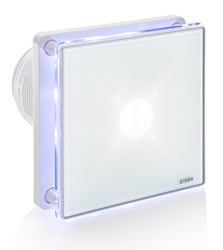 STERR - Badezimmerlüfter mit LED-Beleuchtung - BFS100L