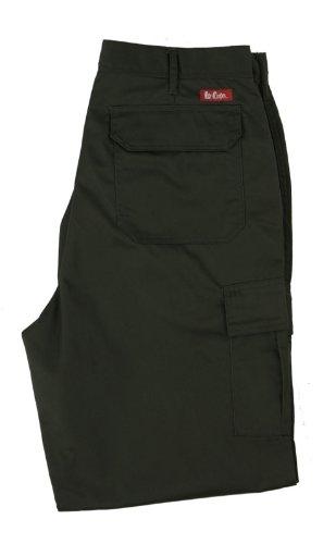 Preisvergleich Produktbild Lee Cooper Workwear Cargo Pant, 34R, schwarz, LCPNT205