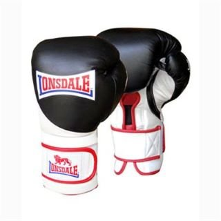 Lonsdale I Core Bag Glove Black/White/Red Lge/X Lge