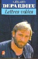 Lettres Volees (Livre De Poche) par Gerard Depardieu