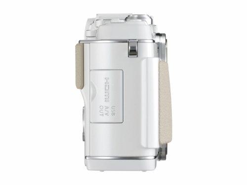 Olympus E-P5 Systemkamera (16 Megapixel MOS-Sensor, True Pic VI Prozessor, 5-Achsen Bildstabilisator, Verschlusszeit 1/8000s, Full-HD) Gehäuse weiß - 2