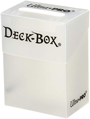 Ultra Pro Deck Box White w/Bag (81454) - Sammelkartenzubehör