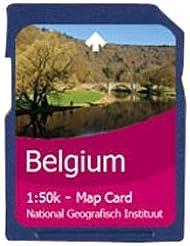 SatMap - Tarjeta con mapas para GPS Belgien Wallonien & Brüssel Talla:1:50000