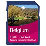 Satmap GPS System Carte Belgique : Flandres et Bruxelles