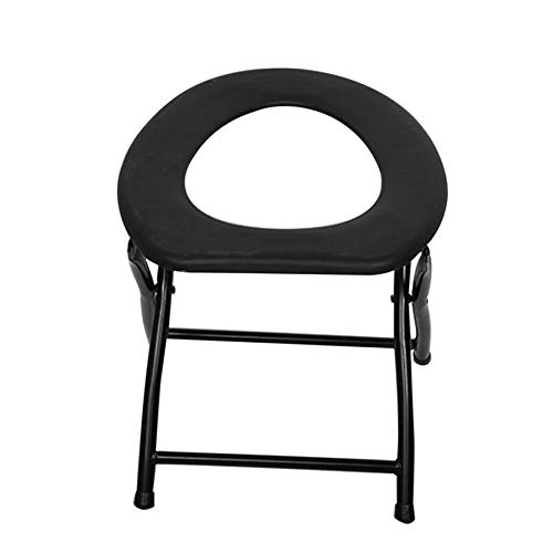 ACROPOIS Portable Strengthened Foldable Toilet Chair Travel Camping Climbing Fishing Mate Chair Outdoor Activity Accessories